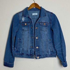 Tops - Medium Cisono Denim Collection Jacket
